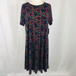 Lularoe XL Triangle Print Carly Dress